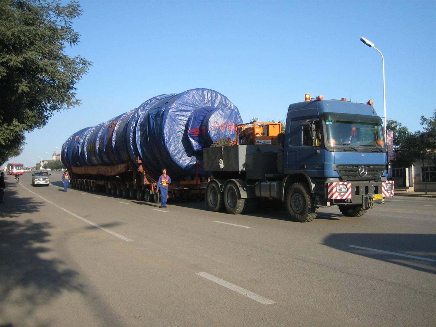 运输时间: 2008年 10 月  起止地:葫芦岛 化机厂—葫芦岛船厂